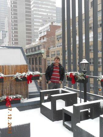 Carvi Hotel New York: Cobertura