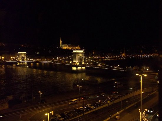Sofitel Budapest Chain Bridge : view from the room