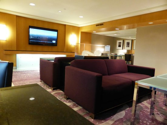 Hilton Los Angeles Airport: Executive Lounge