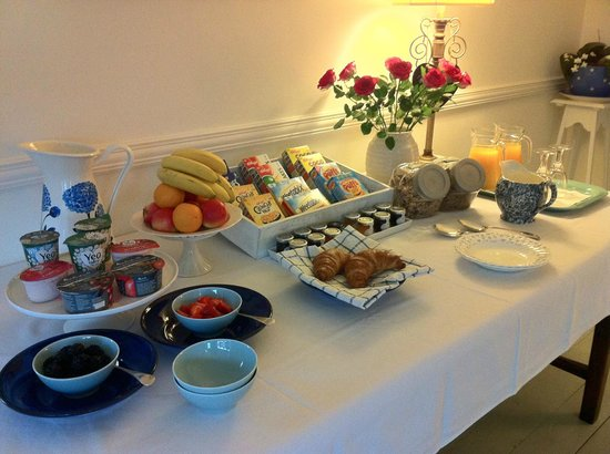 Ash Meadows Guest House : Breakfast