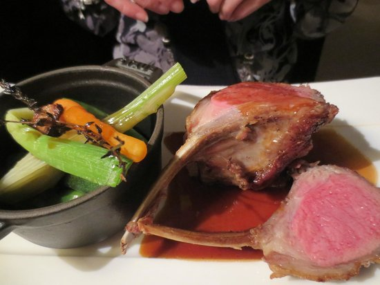 21 Boulevard : The Thyme-roasted rack of Lozère lamb was the best lamb my wife had ever had.