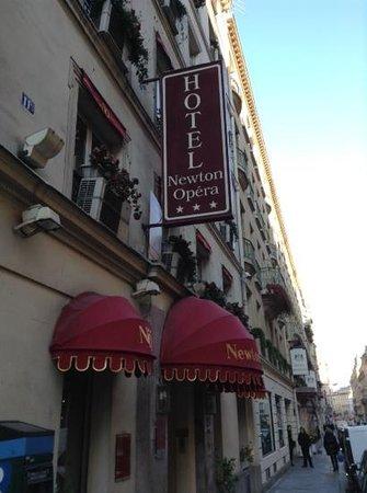 Hotel Newton Opera: Fachada del Newton Opera Paris