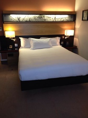 Hilton Dublin: the bed