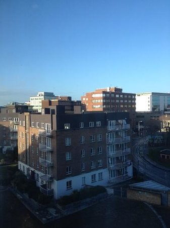 Hilton Dublin: view from room 534