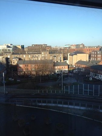 Hilton Dublin: another view from room 534