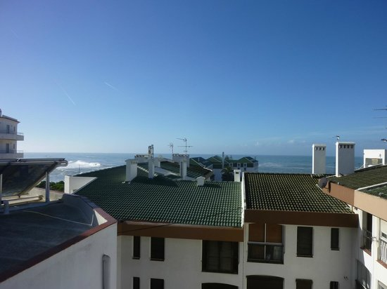 Pensao Fortunato: View from ocean-view room