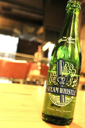 Steam Whistle Brewery: A bottle of Steam Whistle