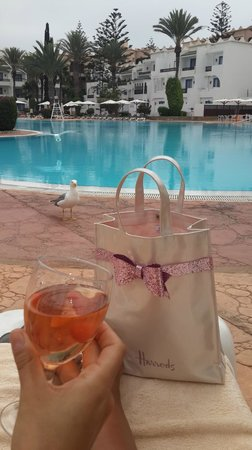 Atlantic Palace Agadir: poolside and our guest