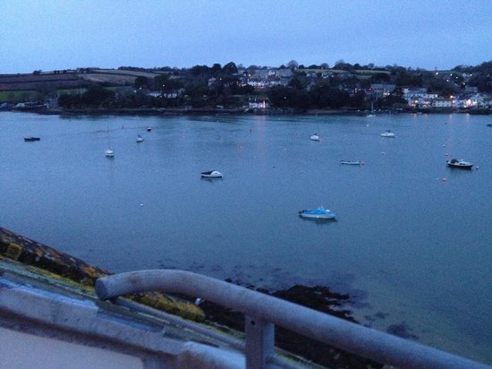 The Greenbank Hotel : View left early evening