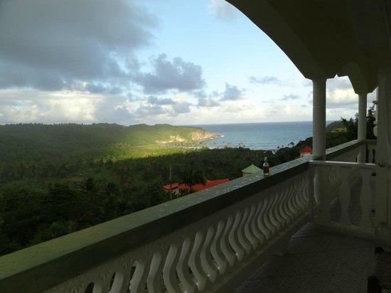 Zamaca Bed & Breakfast: room balcony