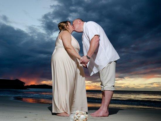 St. James's Club Morgan Bay: Perfect wedding day x