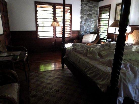 The Lodge and Spa at Pico Bonito : My cabin after a great night sleep