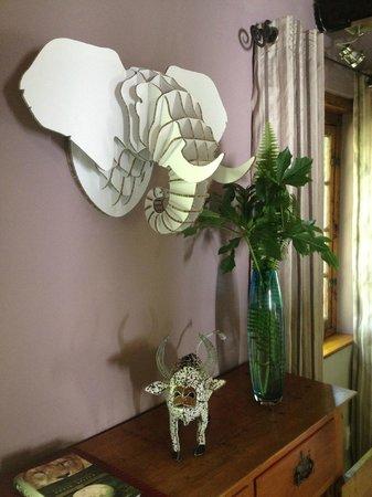 Augusta de Mist Country House: Wohnzimmer