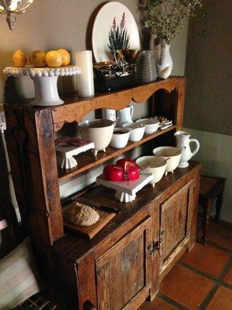 Augusta de Mist Country House: Frühstück