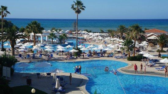 Louis Creta Princess Beach Hotel : Widok z tarasu