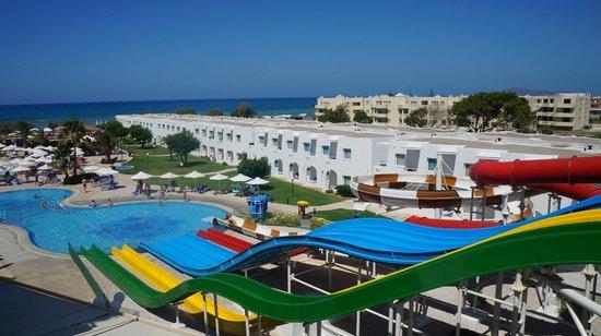 Louis Creta Princess Beach Hotel : Zjeżdżalnie
