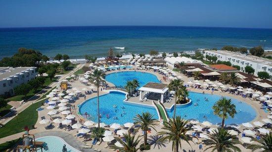 Louis Creta Princess Beach Hotel: Widok z tarasu