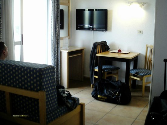 Apartamentos Oro Blanco: living space