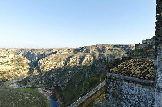 Sextantio Le Grotte della Civita : View from our balcony!
