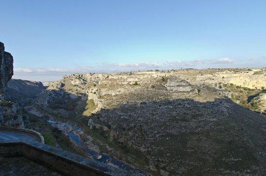 Sextantio Le Grotte della Civita : View from our room