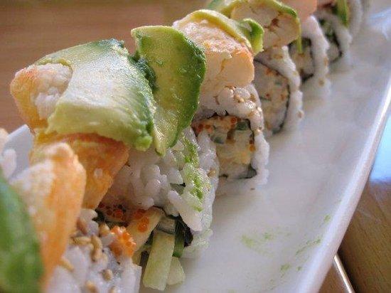 Super Fusion: delicious sushi
