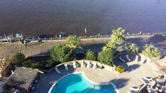 Hilton Wilmington Riverside: 8th floor view
