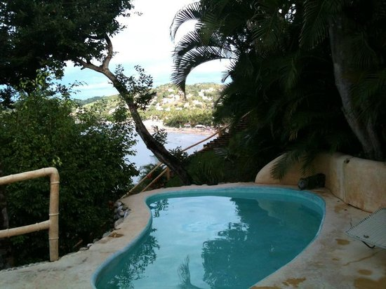 Villa Amor: Private pool and view of Sayulita