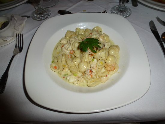 Champers: Seafood Pasta