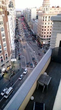 Vistas Desde La Terraza Mirador A Gran Via Picture Of