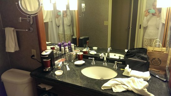 Renaissance Chicago Downtown Hotel: Bath counter