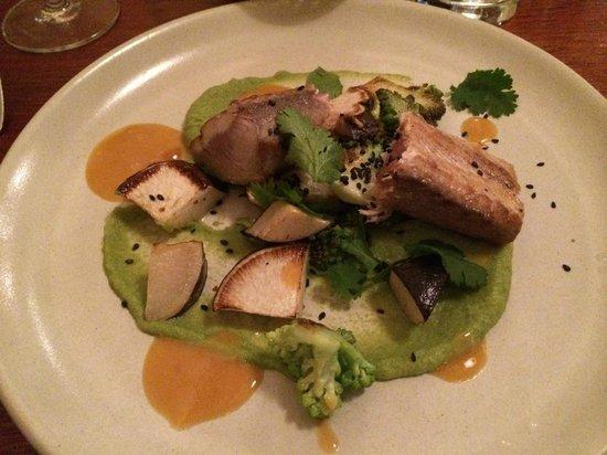 Fish La Boissonnerie: merluzzo ai broccoli