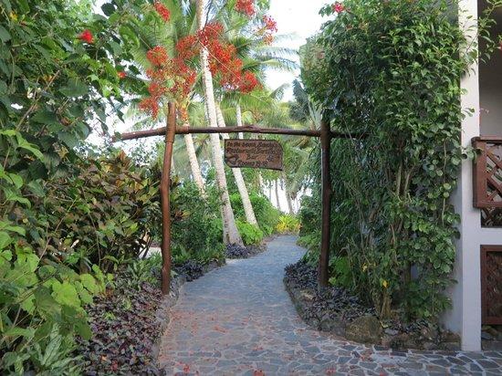 Pacific Resort Rarotonga: Lush tropical grounds, immactulately kept