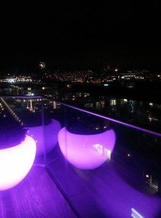 Radisson Blu Riverside Hotel, Gothenburg : Takterrassen