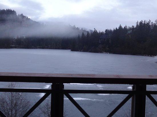 Nita Lake Lodge: view from the room
