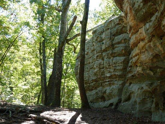 LaFayette, Géorgie : Rocktown Trail