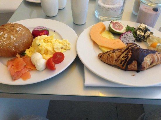 The Pure: Frühstück