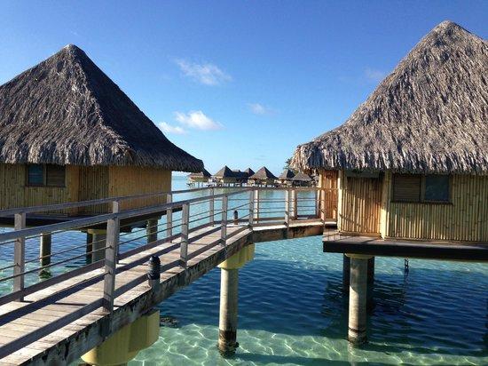 InterContinental Bora Bora Le Moana Resort : área comum