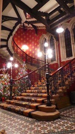 The Gilbert Scott: exceptional decor behind the restaurant - definitely worth a visit