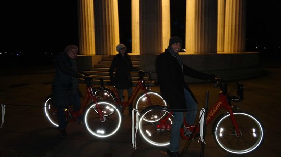 Capital Bikeshare: DC war memorial