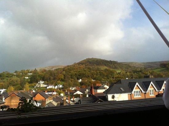 Manorhaus Llangollen : View from window