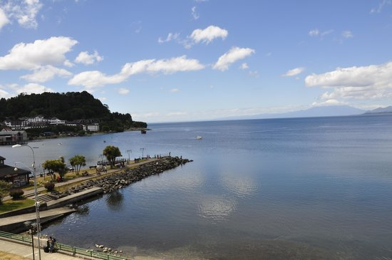 Radisson Hotel Puerto Varas: View from room window