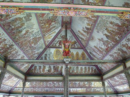 Klungkung Temple: techo