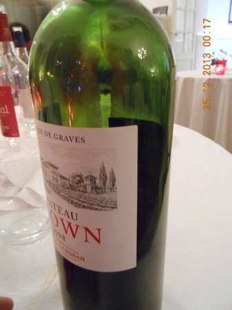 Domaine de Raba: Undrinkable Chateau Brown 2008 with Residues