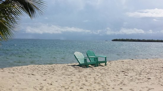 Captain Jak's Cabanas: This is the beach that's a straight 3 minute walk from Captain Jak's
