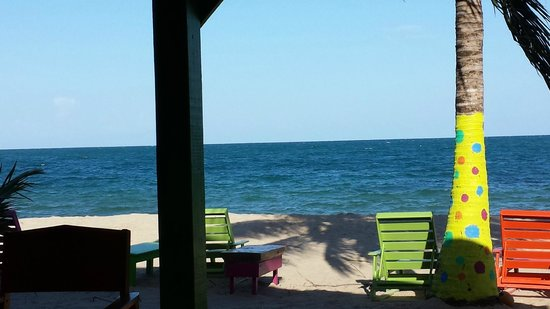 Captain Jak's Cabanas: The view from our favorite snack & drink stop- Barefoot Bar