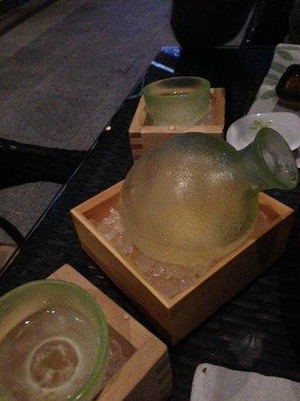 Kazu : Sake presentation