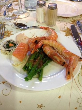 HD Beach Resort: new years eve dinner