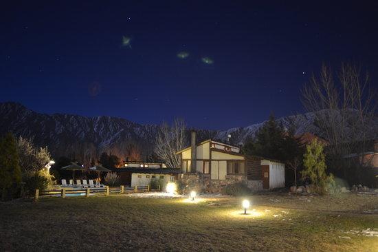 Casona y Cabanas Rio Mendoza: Noche para disfrutar