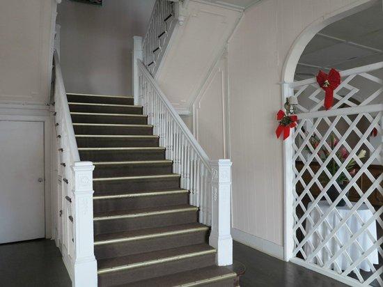 Chateau Caribbean: staircase