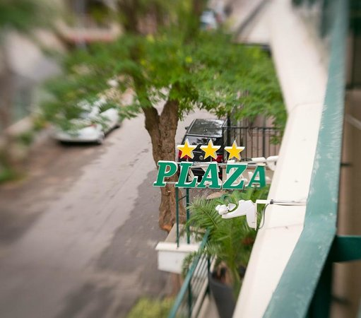 Hotel Plaza : Вид из номера, 2-ой этаж